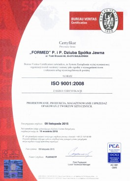 ISO 9001:2008 PL